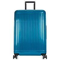 Матовый чемодан Piquadro Seeker 69х46х27см синего цвета, фото