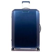 Чемодан Piquadro Cubica 75х51х28см синего цвета, фото