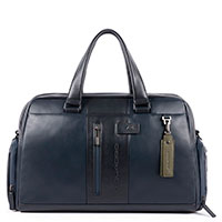 Дорожная сумка Piquadro Urban синего цвета, фото