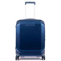 Чемодан Piquadro Cubica 55х40х20см с отделение для ноутбука синего цвета, фото