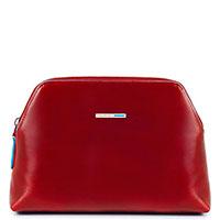Несессер Piquadro Blue Square 15х22х6см красного цвета, фото