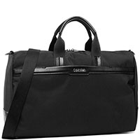 Дорожная сумка Calvin Klein черного цвета, фото