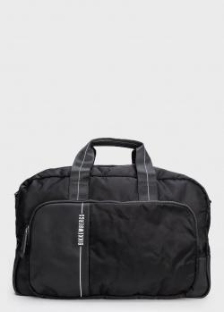 Черная сумка Bikkembergs с логотипом , фото