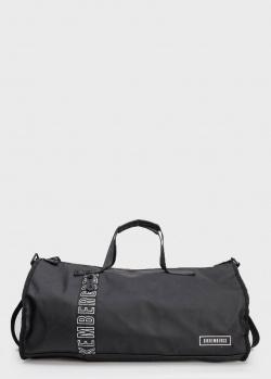 Дорожная сумка Bikkembergs с фирменной надписью, фото