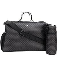 Пеленальная сумка Emporio Armani с чехлом для бутылочки, фото