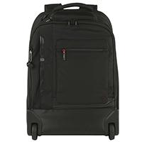 Рюкзак на колесах Hedgren Zeppelin Revised черного цвета, фото