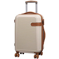 Бежевый чемодан IT Luggage Valiant Cream 55х36х23см, фото