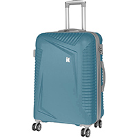 Голубой чемодан IT Luggage Outlook Bayou 71х49х29см, фото