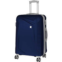 Синий чемодан IT Luggage Outlook Dress Blues 71х49х29см, фото