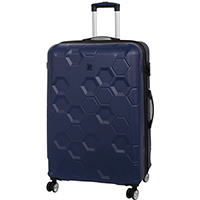 Синий чемодан IT Luggage Hexa Blue Depths 81х55х34см, фото