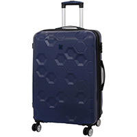 Синий чемодан IT Luggage Hexa Blue Depths 71х49х29см, фото