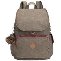 Рюкзак Kipling Basic Essentials City Pack темно-бежевый, фото