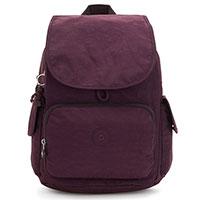 Рюкзак Kipling Basic City Pack сливового цвета, фото
