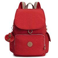 Красный рюкзак Kipling Basic Essentials City Pack, фото