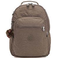 Темно-бежевый рюкзак Kipling Basic Essentials Clas Seoul, фото