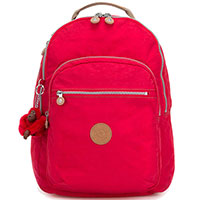 Большой рюкзак Kipling Basic Essentials Clas Seoul красного цвета, фото