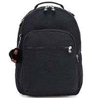 Большой черный рюкзак Kipling Basic Clas Seoul, фото