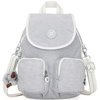 Светло-серый рюкзак Kipling Basic Firefly Up, фото