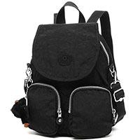 Черный рюкзак Kipling Basic Firefly Up с брелком, фото