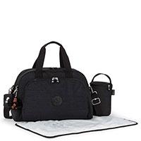 Сумка Kipling Baby Bag Camama черного цвета, фото