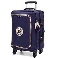 Маленький чемодан 34,5x55x25,5см Kipling Cyrah S Basic синего цвета, фото
