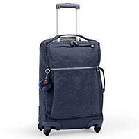 Чемодан Kipling Basic35x55x20,5см на 4 колесах синего цвета, фото