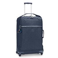 Чемодан Kipling Basic 43,5x66,5x27,5см на 4 колесах синего цвета, фото