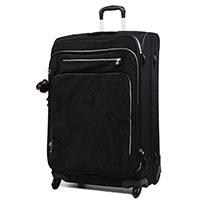 Чемодан Kipling Basic 49x78x33,5см на 4 колесах черного цвета, фото
