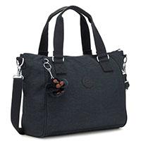 Женская сумка Kipling Amiel синего цвета, фото