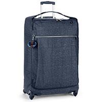 Чемодан Kipling Basic48,5x74,5x29,5см на 4 колесах синего цвета, фото