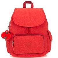 Красный рюкзак Kipling Basic City Pack S, фото