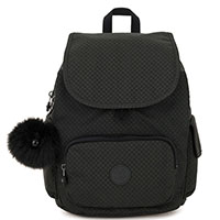 Рюкзак черный Kipling Basic Plus City Pack S Powder Black, фото