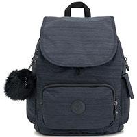Синий женский рюкзак Kipling Basic Plus City Pack S, фото