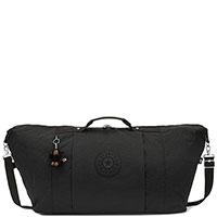 Дорожная сумка Kipling Basic Adonis True Black с брелком, фото