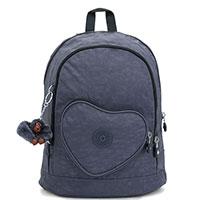 Рюкзак с карманом-сердце Kipling BTS Heart Backpack True Jeans, фото