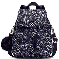 Рюкзак с принтом Kipling Basic Plus Firefly Up Soft Feather, фото