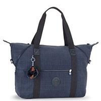 Женская сумка Kipling Art M в синем цвете, фото