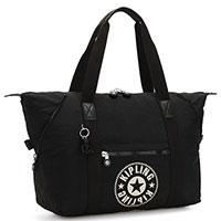 Женская сумка Kipling Art M черного цвета, фото