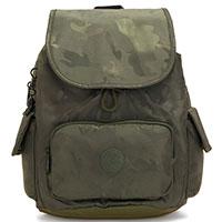 Камуфляжный рюкзак Kipling Basic Elevated City Pack S, фото