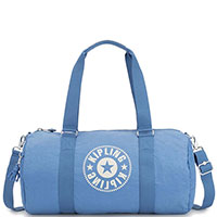 Голубая дорожная сумка Kipling New Classics Onalo, фото