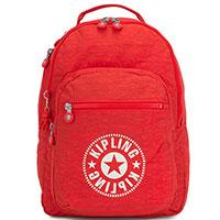 Большой рюкзак Kipling New Classics Clas Seoul красного цвета, фото