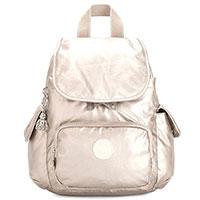 Рюкзак Kipling City Pack Mini 27x29x14см бежевого цвета, фото