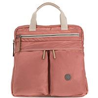 Розовый рюкзак Kipling Edgeland Plus Komori S с функцией сумки, фото