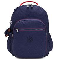 Большой рюкзак Kipling BTS Seoul Go XL синего цвета, фото