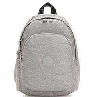 Текстильный рюкзак Kipling Peppery Delia светло-серый, фото