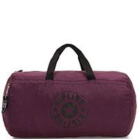 Дорожная сумка складная Kipling Packable Bags Onalo Packable сливового цвета, фото
