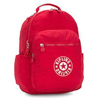 Рюкзак Kipling Seoul 35x44x20,5см красного цвета, фото