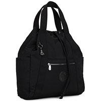 Сумка-рюкзак Kipling черного цвета, фото