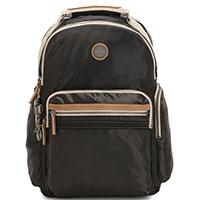 Черный рюкзак Kipling Edgeland Plus Osho с отделением для ноутбука, фото