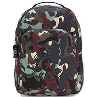 Камуфляжный рюкзак Kipling Packable Bags Seoul Packable складной, фото